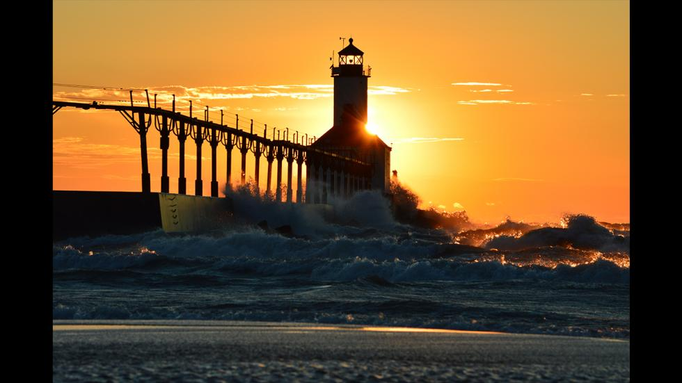 It's amazing out there awesome pictures Sunset Waves