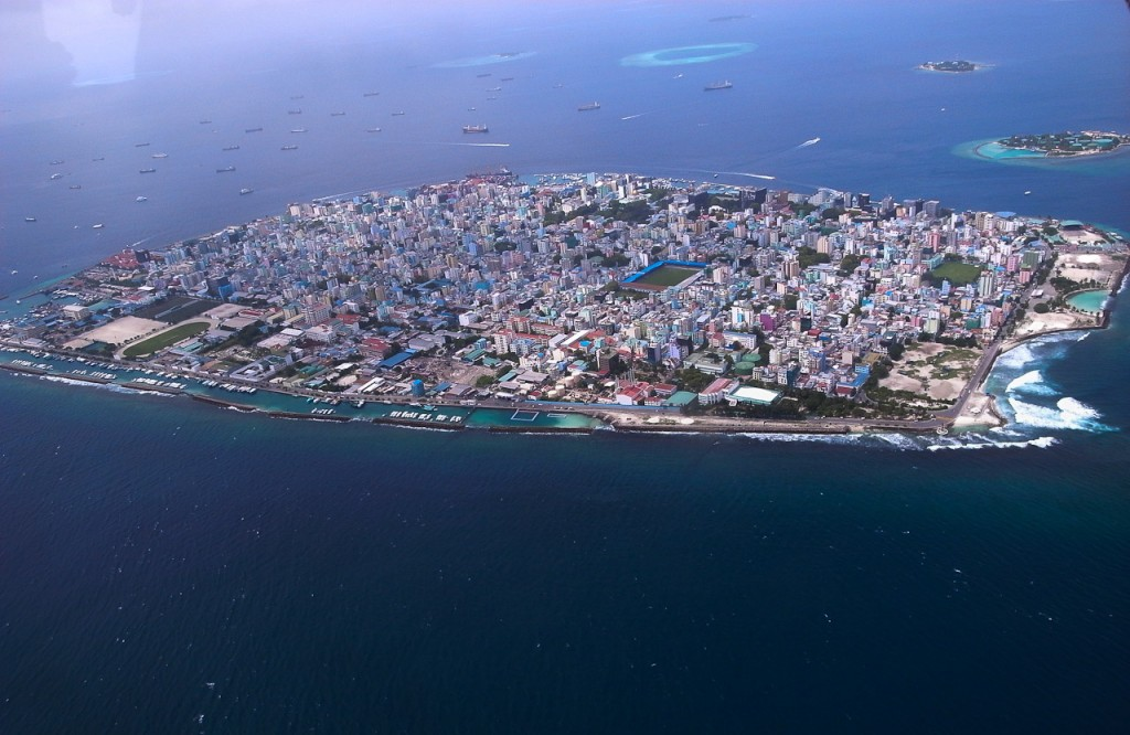 most densely populated places on Earth  Malé, Island Republic of Maldives
