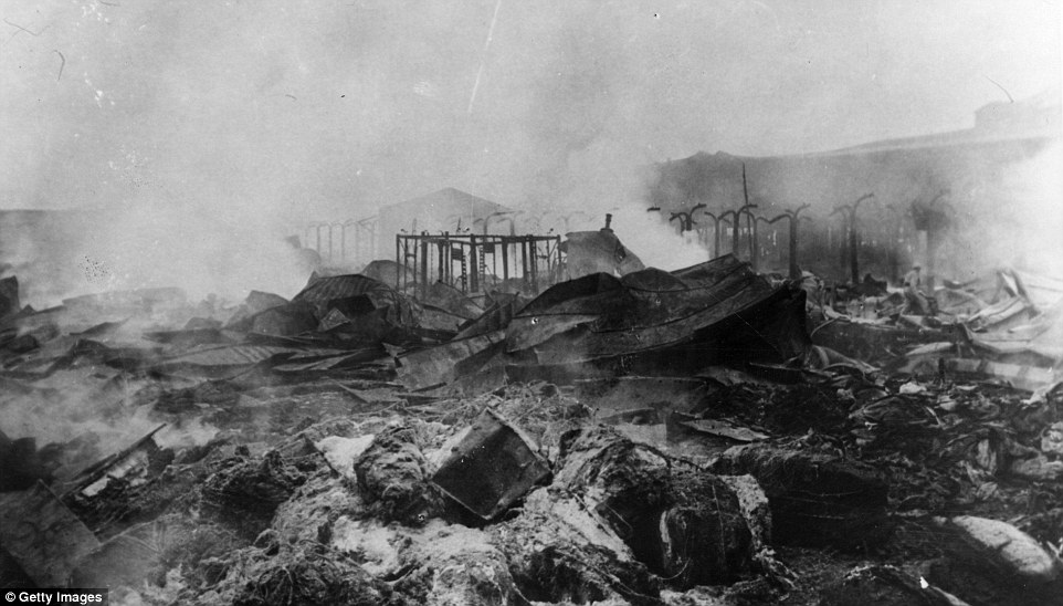 harrowing photos show the horror of the First World War from 100 years ago