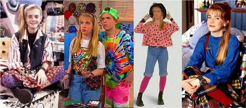 Embarrassing And Funny 80s/90s Fashion Melissa Joan Hart