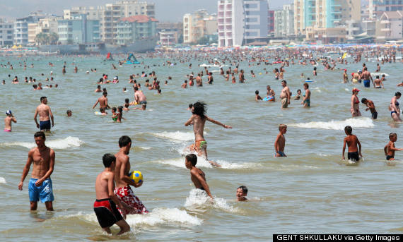 the-10-most-crowded-beaches-in-Europe Beach of Durrës
