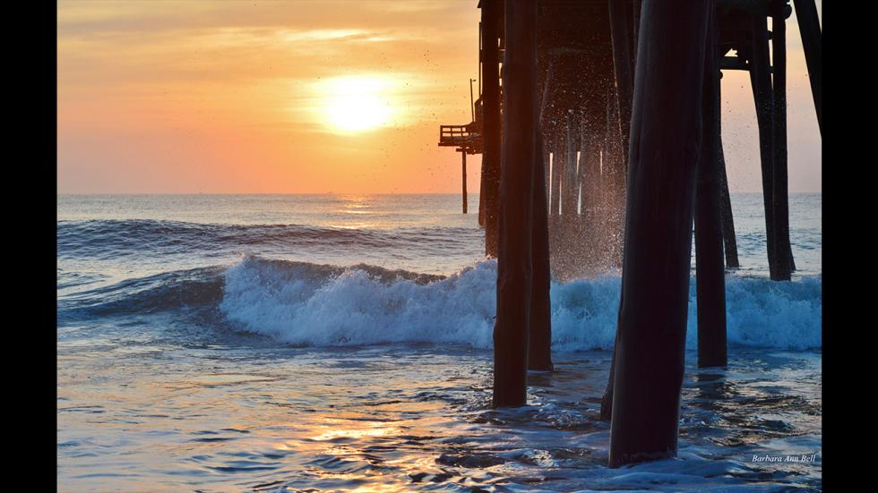 It's amazing out there awesome pictures Outer Banks Fishing Pier Sunrise