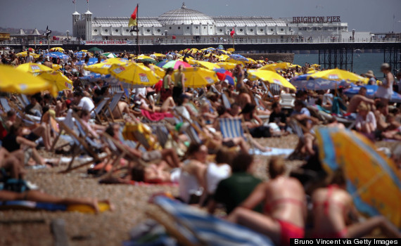the-10-most-crowded-beaches-in-Europe Brighton Beach