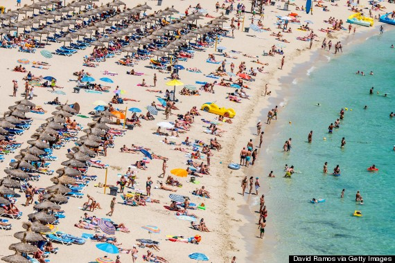 the-10-most-crowded-beaches-in-Europe Magaluf, Majorca