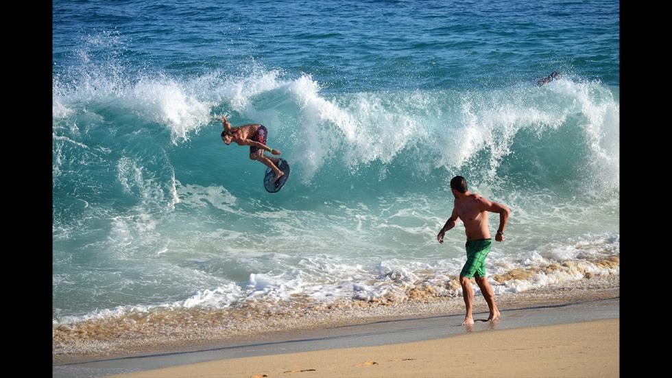 It's amazing out there awesome pictures Wave Riding in the Baja