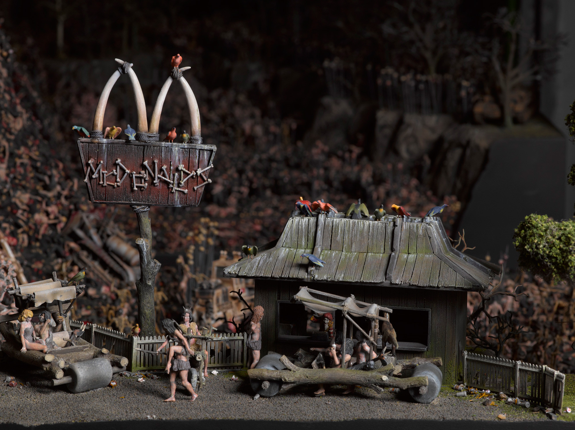 Hitler And Mcdonalds? Wtf? But Seriously, These Are Some Awesome Depiction!'