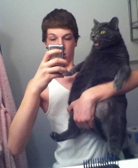 Black cats are being abandoned by their owners because they don't look pretty in selfies