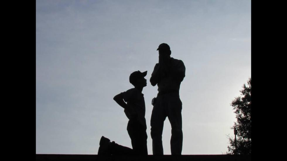 It's amazing out there awesome pictures Father and Son
