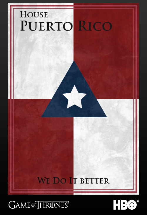 'Game of thrones' fans State Sigils HBO's website Puerto Rico