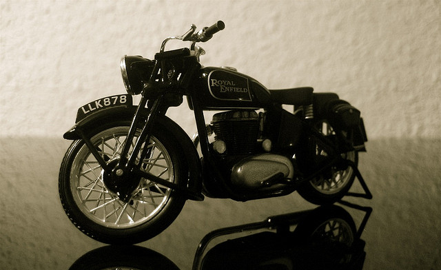 Old things still work perfectlynew things A 19th century motorcycle that people ride even today
