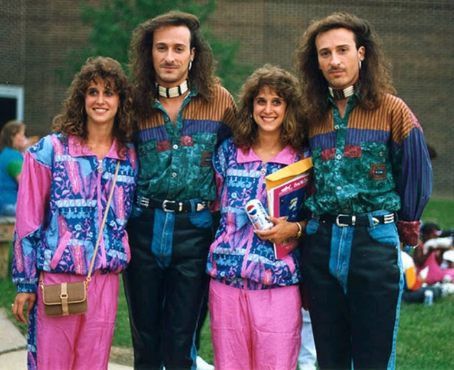 Embarrassing And Funny 80s/90s Fashion