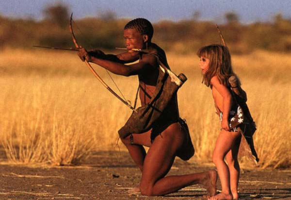 This isn't bad parenting or child abuse, this is the coolest lifestyle! Kids in Africa
