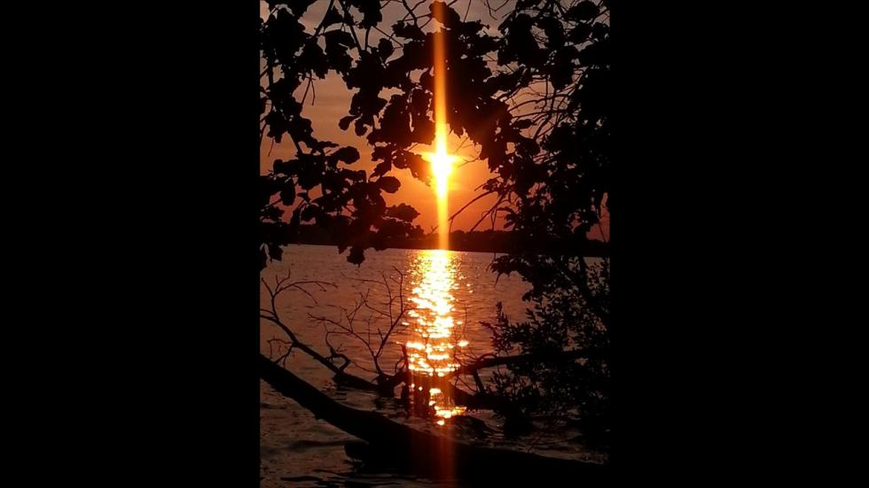 It's amazing out there awesome pictures Sunset Cross