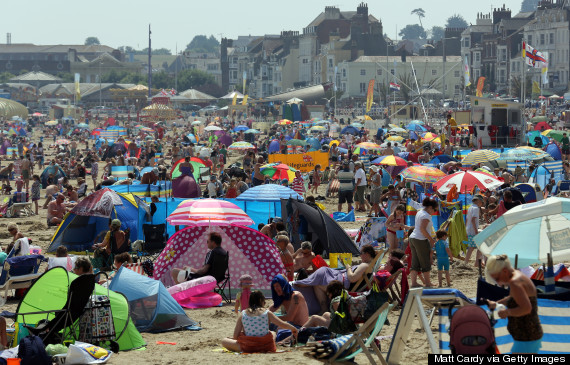 the-10-most-crowded-beaches-in-Europe Weymouth Beach