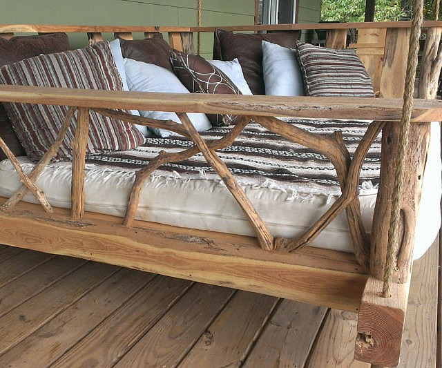 these amazingly ingenious accessories will make your backyard more awesome Porch-swing-beds