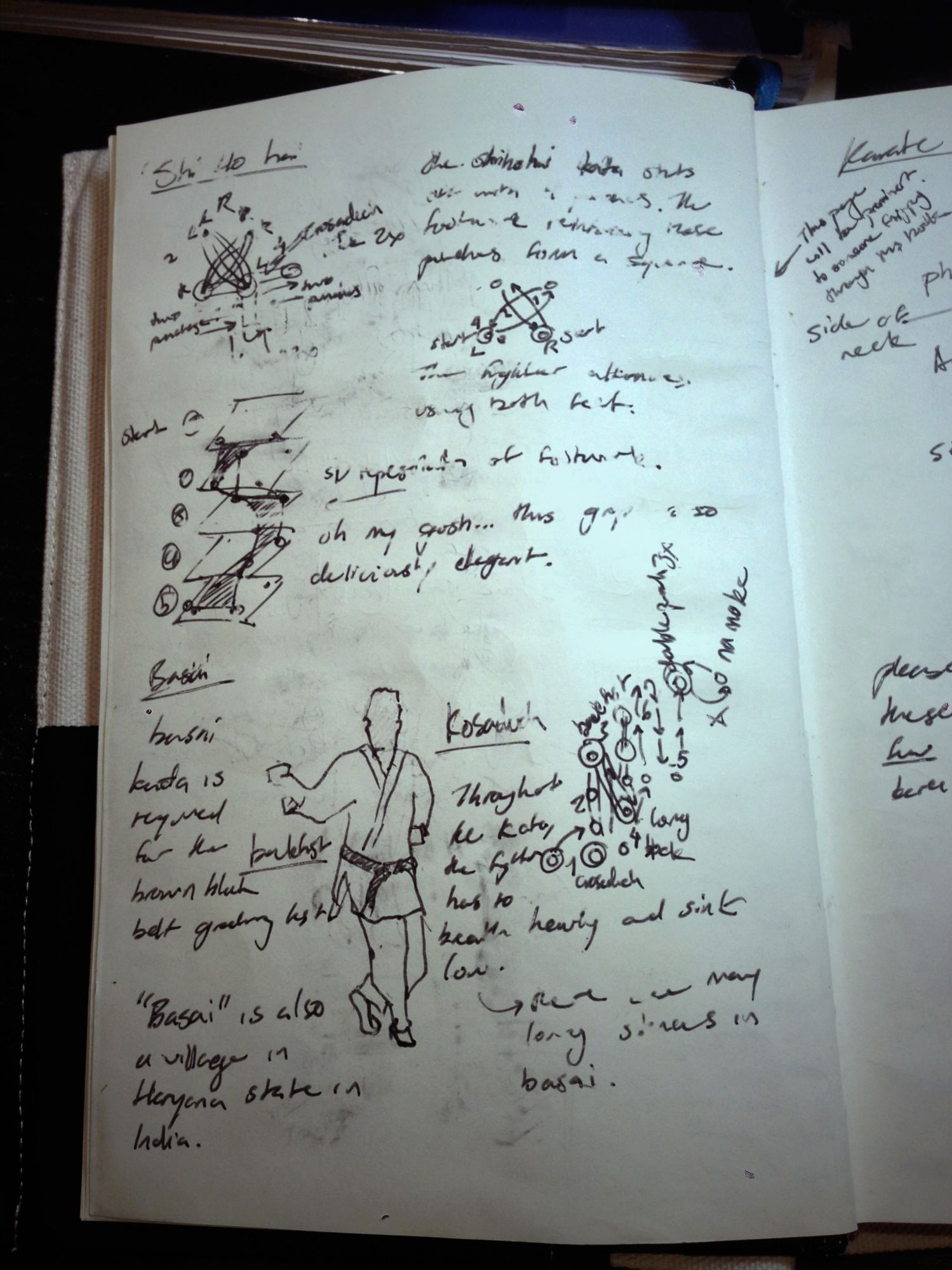 Julian's notebook