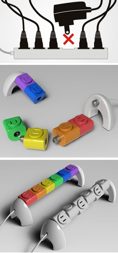 clever inventions that will make your life so much easier Lego Sockets