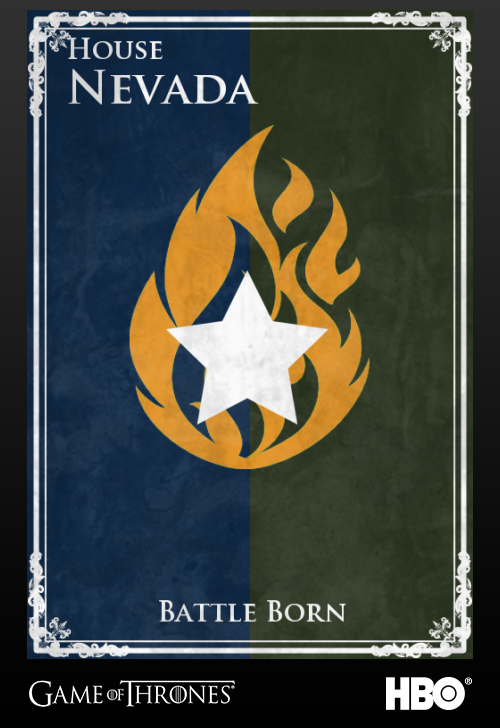 'Game of thrones' fans State Sigils HBO's website Nevada