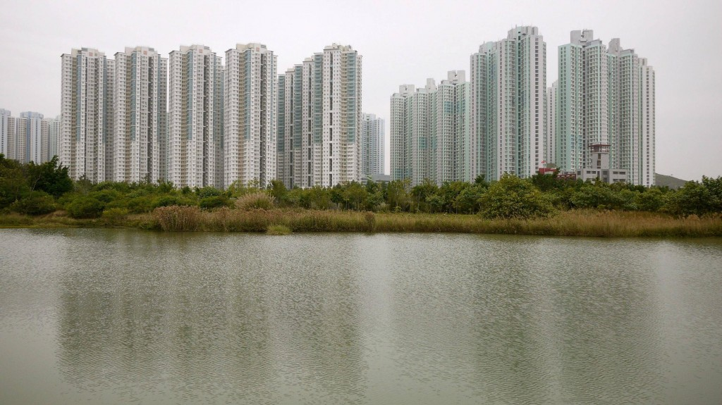 most densely populated places on Earth  Tin Shui Wai New Town, Yuen Long District, Hong Kong