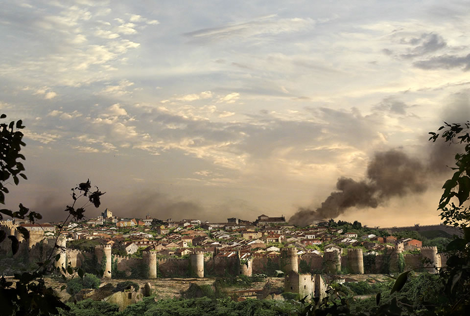 The last of us: apocalyptic pictures of the end of the world Ávila, Spain