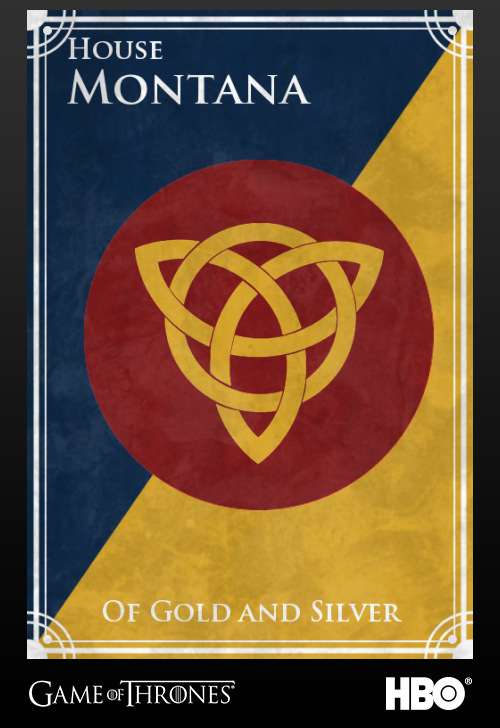 'Game of thrones' fans State Sigils HBO's website Montana