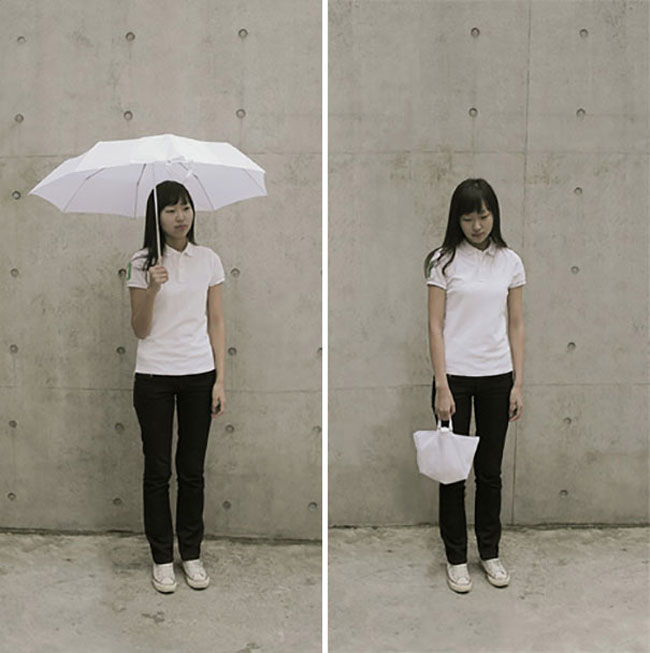 clever inventions that will make your life so much easier Inside-Out Umbrella