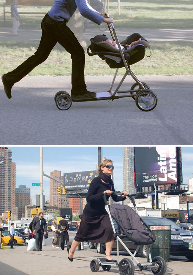 clever inventions that will make your life so much easier Baby Skater I
