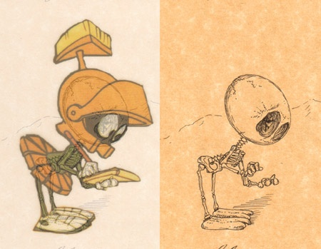 cartoon skeletons cartoon skeletons Marvin
