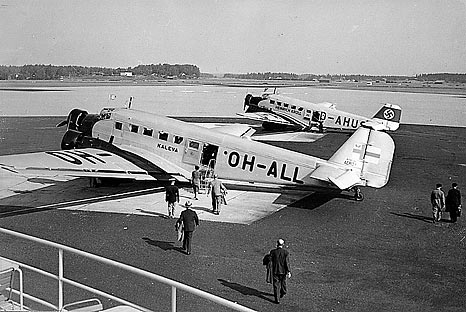 Malaysian Flight MH17 tragic unfortunately shot-down civil airplanes in civil aviation history Kaleva OH-ALL (1940)