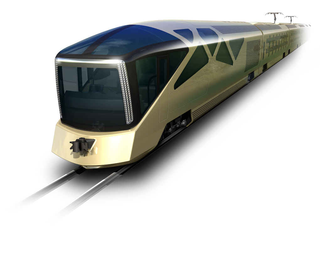 Japanese Hotels on wheels train sets
