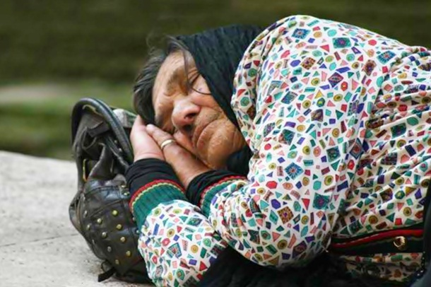 highest homeless populations Rome, Italy