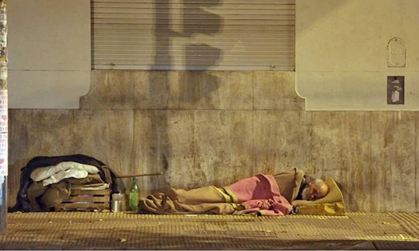 highest homeless populations Buenos Aires, Argentina