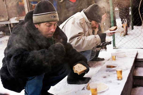 highest homeless populations Moscow, Russia