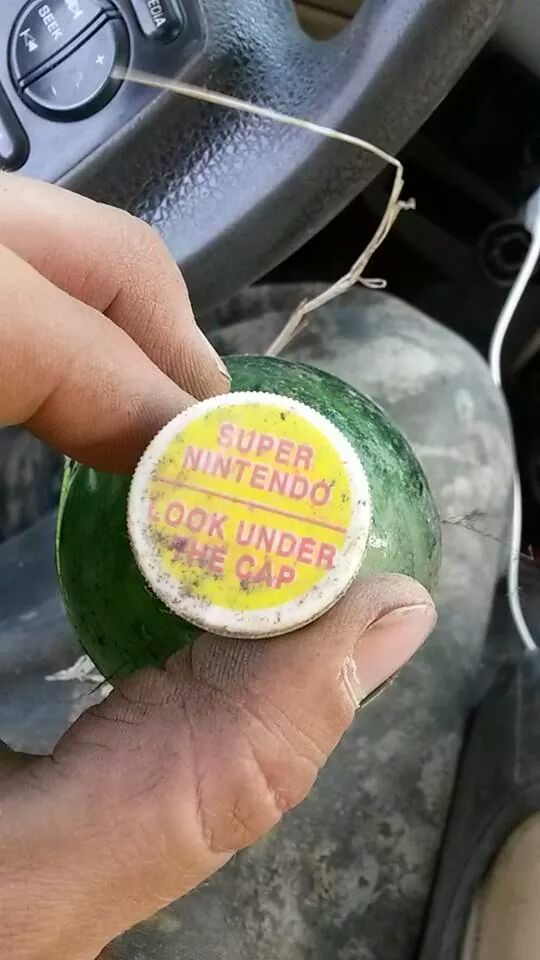 1992 mountain Dew bottle under that cap was a winner for a super Nintendo