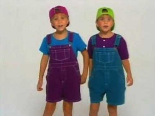 Embarrassing And Funny 80s/90s Fashion The Olsen Twins