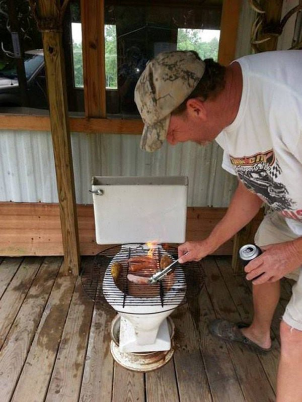 Here are 10 redneck BBQ life hacks that help you BBQ without a grill