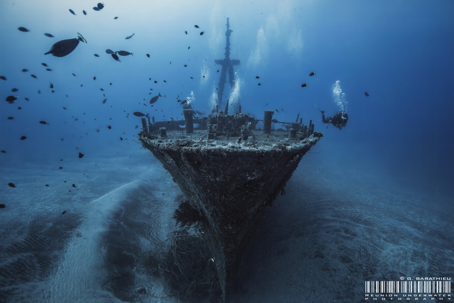 Photograph Haï Siang wreck by Gaby Barathieu on 500px