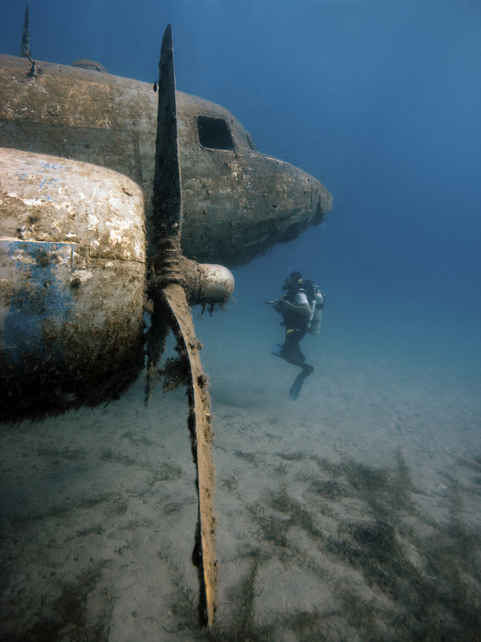 Photograph Diving the Dakota by Rico Besserdich on 500px