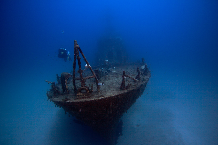 Photograph Diving The Wreck Of The P-29 by Steve Ennis on 500px