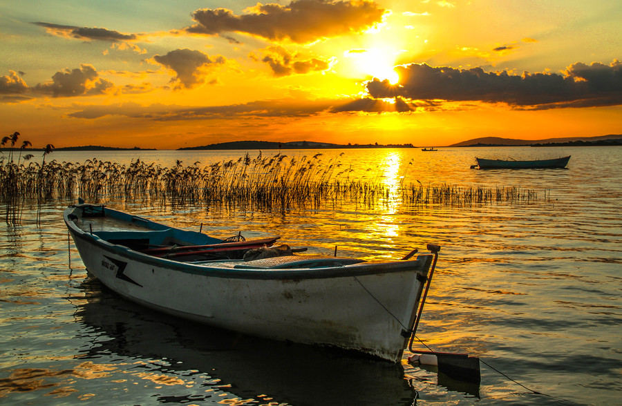 Photograph Sunset on Apolyont by Alperen Ar?can on 500px