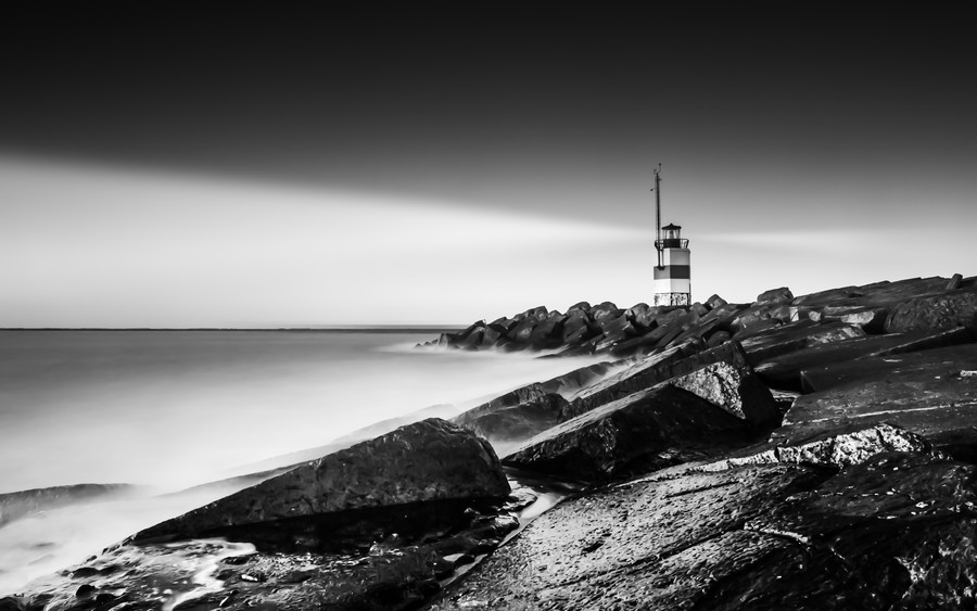Photograph Lighthouse on the pier by Martijn Kort on 500px