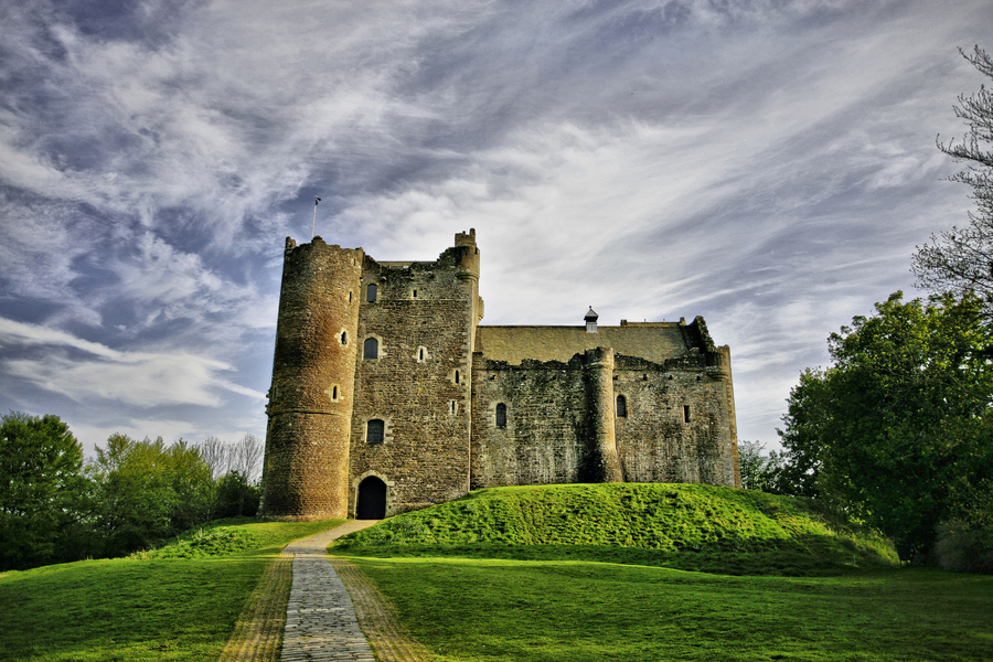 Photograph Doune Castle by Buster Brown on 500px