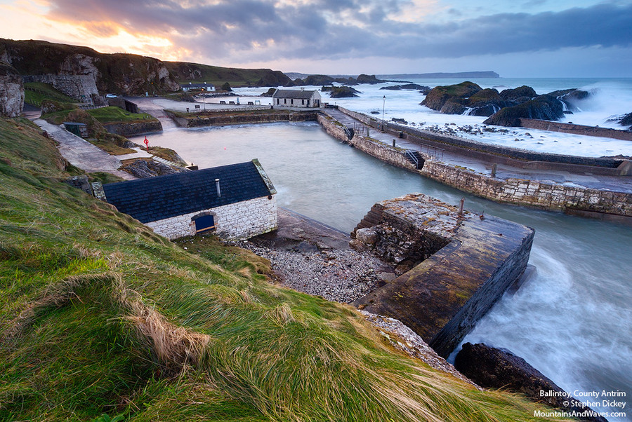Photograph Ballintoy Harbour, County Antrim, Northern Ireland by Stephen Dickey on 500px