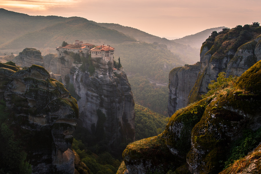 Photograph Morning at Meteora by Qing Yu on 500px