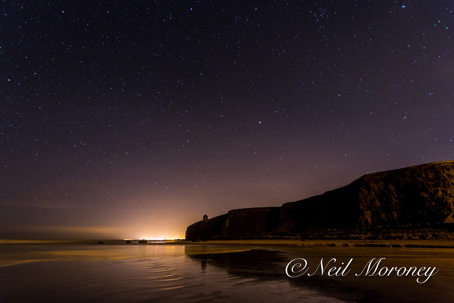 Photograph Mussenden Temple under the Night Sky. by Neil Moroney on 500px