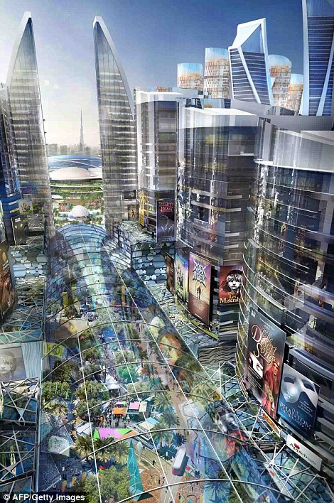 Dubaiare going to build the biggest mall with a climate-controlled system
