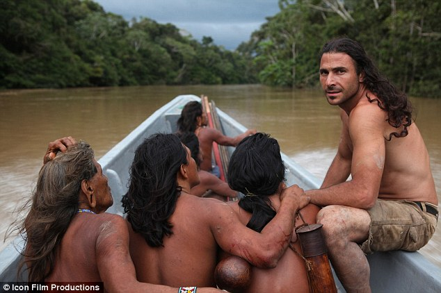 a real survivor! this hunky explorer did when he lived with the world's most isolated tribes!