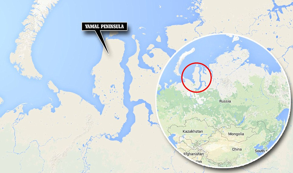 Scientists baffled by Enormous 262ft hole at siberia
