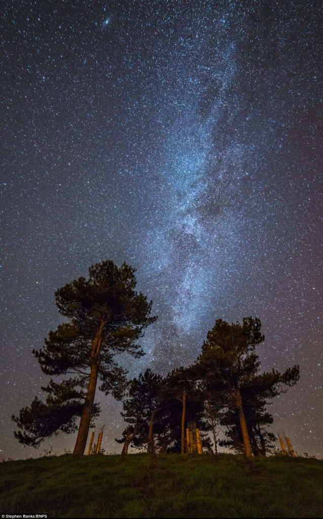 Outrageously Stunning Photographs Of The Milky Way Lighting Up The Dorset Coast By Amateur Photographer Stephen Bank