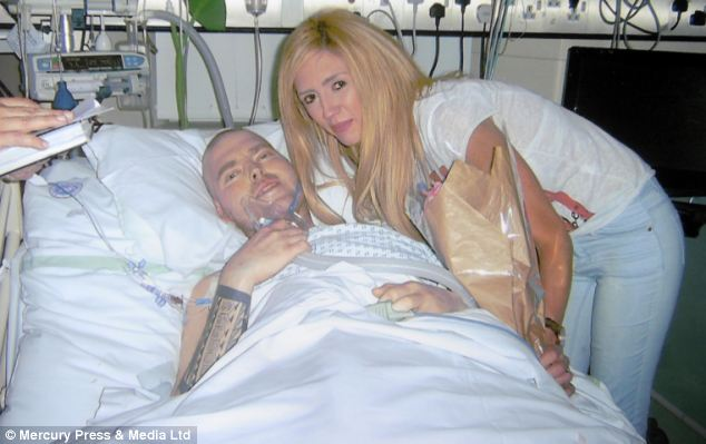 a very sad moment when a dying father married his fiancée. He was diagnosed with a rare form of cancer Ian and Gemma